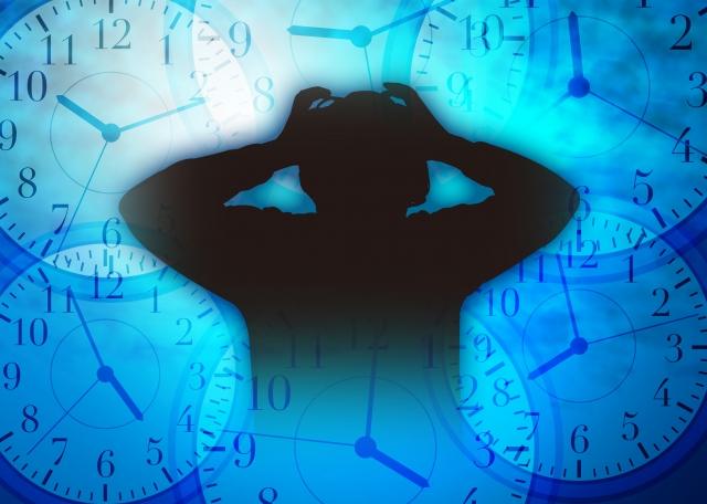夫婦間の睡眠時間のズレが原因