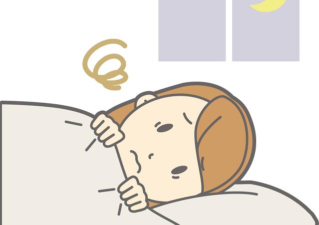 入眠困難の症状は?