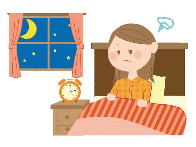 夜中に目が覚めてしまうのは立派な不眠症
