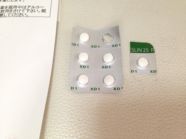 レスリン錠25